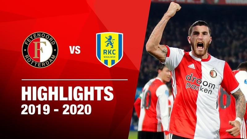 Highlights | Feyenoord - RKC Waalwijk | 2019-2020