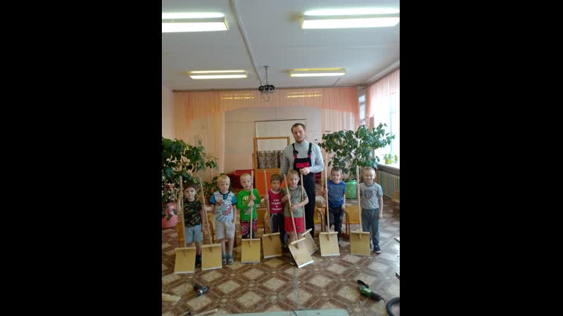 мастер класс в детском саду