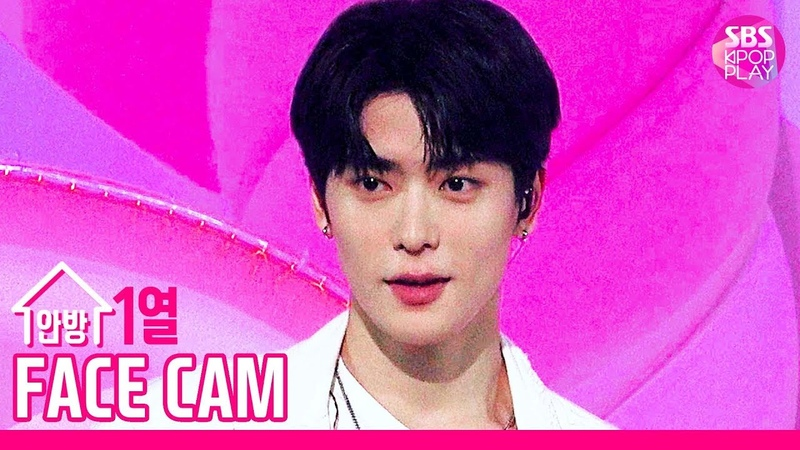 [페이스캠 4K] MC 스페셜 무대 재현 Jumpo Mambo (MC Special Stage NCT JAEHYUN FaceCam)│@SBS Inkigayo_2019.10.20