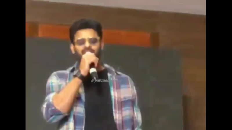 Prabhas about Eeswar (Hugging scene on the road)