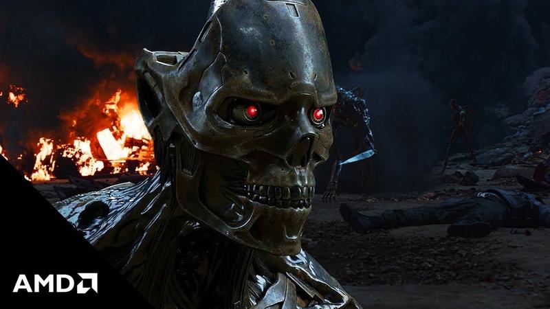 Terminator Dark Fate meets 3rd Gen AMD Ryzen™ Threadripper™