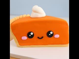 """Торт """"Кусочек пирога"""". / Наша группа в ВК: """"Торты на заказ. Мировые шедевры""""."""