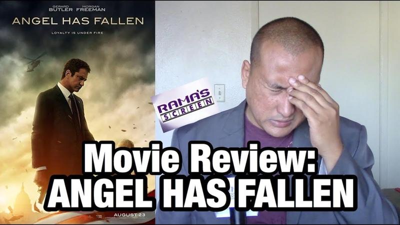 Movie Review ANGEL HAS FALLEN Starring Gerard Butler and Morgan Freeman