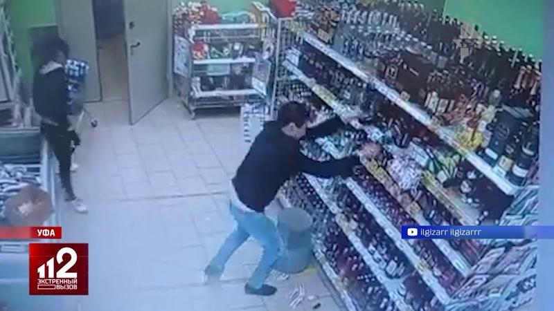 Пьяный борец за трезвость разгромил алкомаркет