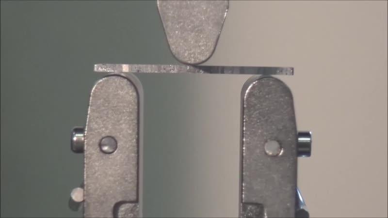 Испытание образцов полупроводника на изгиб Лаборатория кафедры РК 5 МГТУ им Н