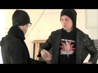 VILLE VALO from HIM H I M in a Photo Session Trying on Stefan Lindfors Suit Design
