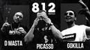 D.MASTA x PICASSO x GOKILLA - 812 FREESTYLE | Kosmos Beats | 2019