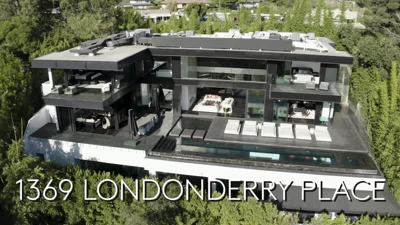 Inside a $35M Hollywood Mansion With a 2 Level Glass-Bottomed Pool