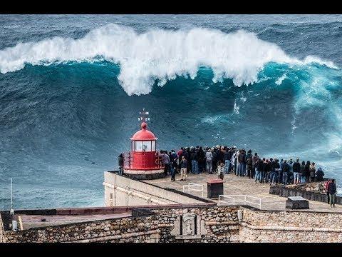 Самые большие волны в мире Назаре Португалия c Владимиром Волошиным