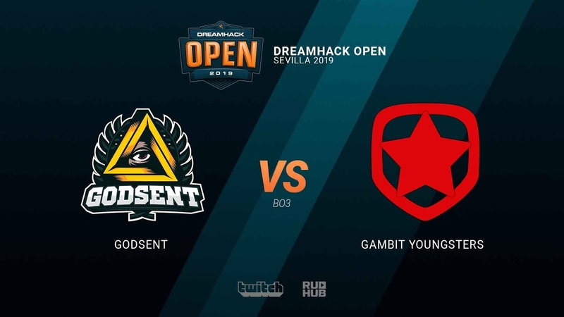 GODSENT vs Gambit Youngsters - DH Open Sevilla 2019 - map1 - de_overpass [TheCraggy MintGod]