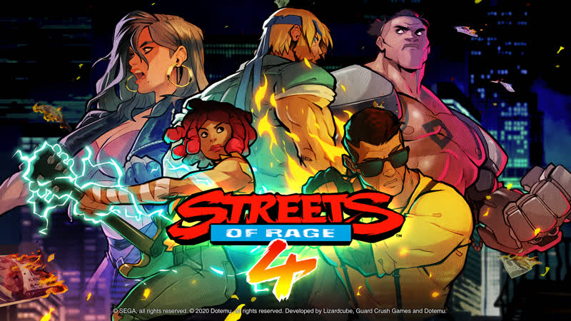 CO OP Alex Gurulev Alex Voron Streets of Rage 4