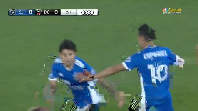 La Chofis Scores First MLS Golazo for San Jose Earthquakes