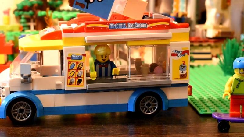 Сборка Лего 60253 Вагончик мороженного LEGO 60253 SPEED BULD