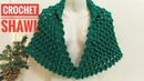 How to Crochet a Shawl Cape ☕ The Crochet Shop