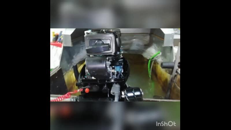 Лодочный мотор Hidea HD 9 9 FHS PRO двухтактный