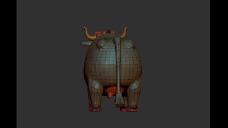 Cow Movie 3D