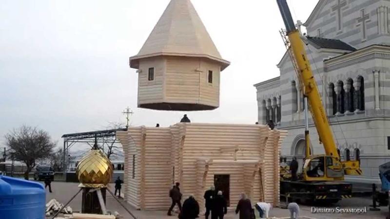 Обыденный храм за один день