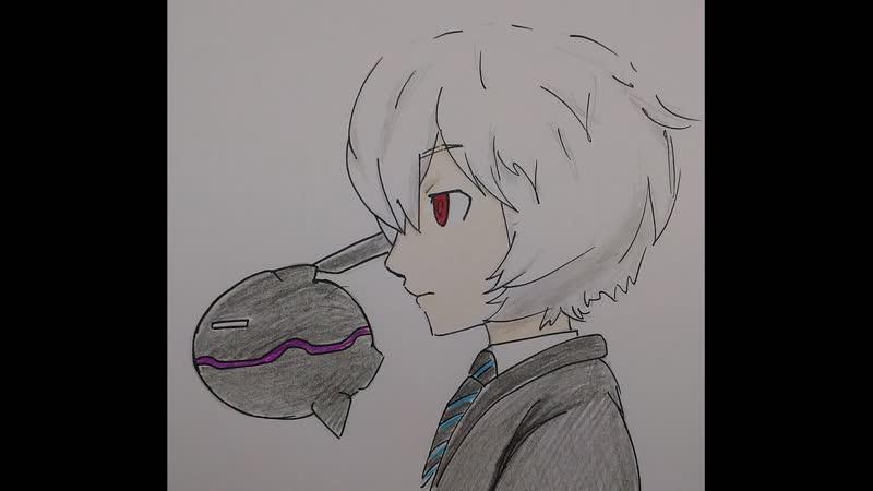 Персонаж Юма Куга из аниме Импульс мира