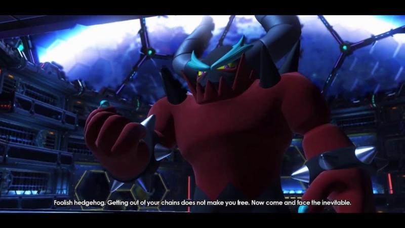 Sonic Forces Cutscenes Stage 5 Death Egg VS Zavok