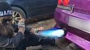 The CRAZIEST exhaust-explosive sound/Antilag Backfire Compilation 27