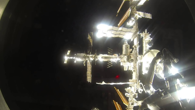 Soyuz TMA 16M Docking with ISS 03 27 15 Timelapse 1080p 60 FPS