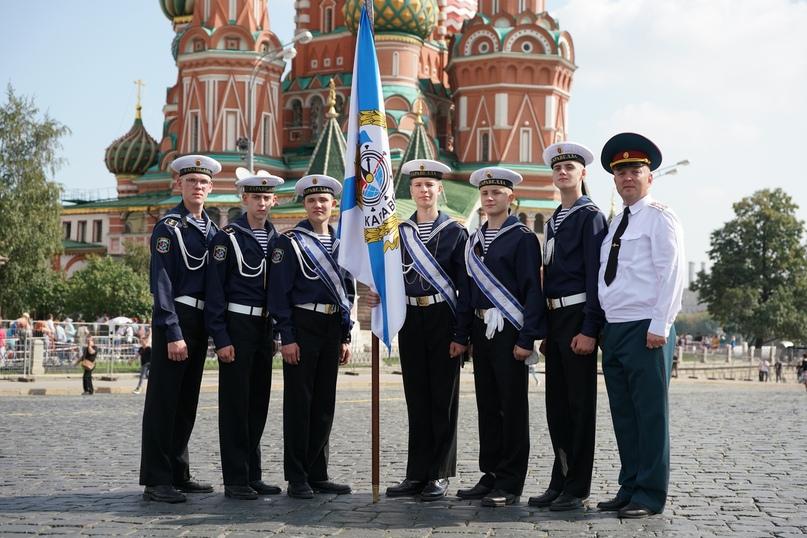 «Каравелла» встала в почётный караул на Красной площади