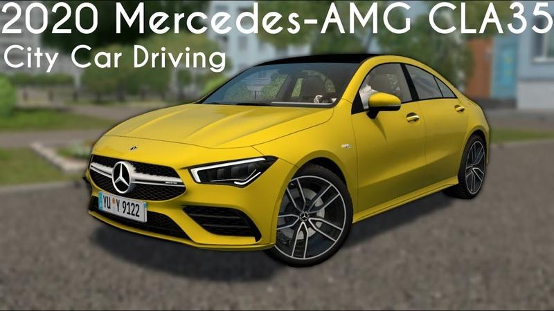 City Car Driving 1 5 9 2020 Mercedes AMG CLA35 Custom Sound Buy Link