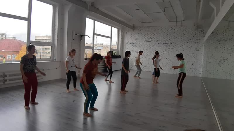 Afro dance. Body Percussion