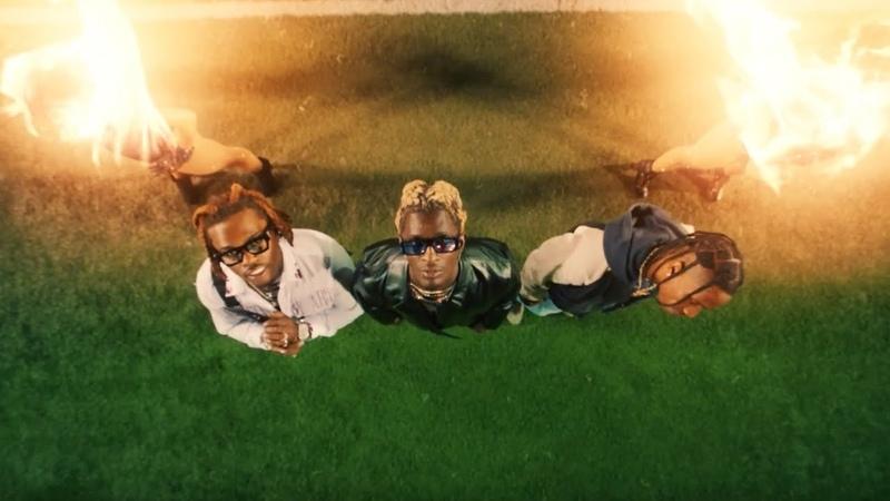 Young Thug Hot ft Gunna Travis Scott Official Music Video