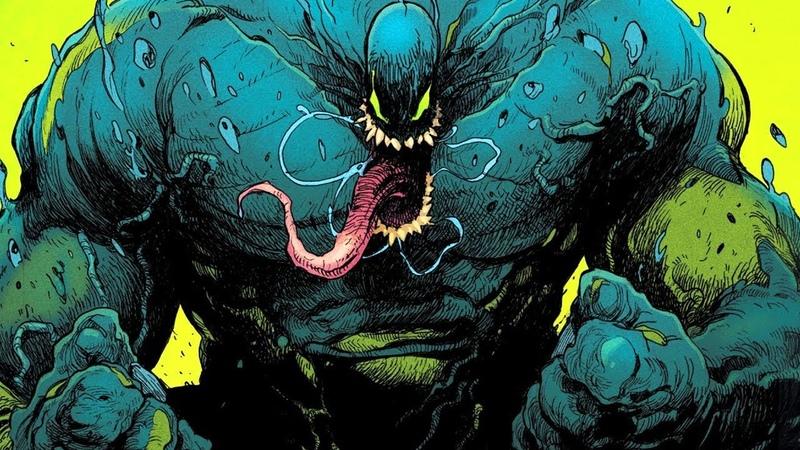 ХАЛКОВЕНОМ - Халк становится Веномом. Война симбиотов. Absolute Carnage 8.