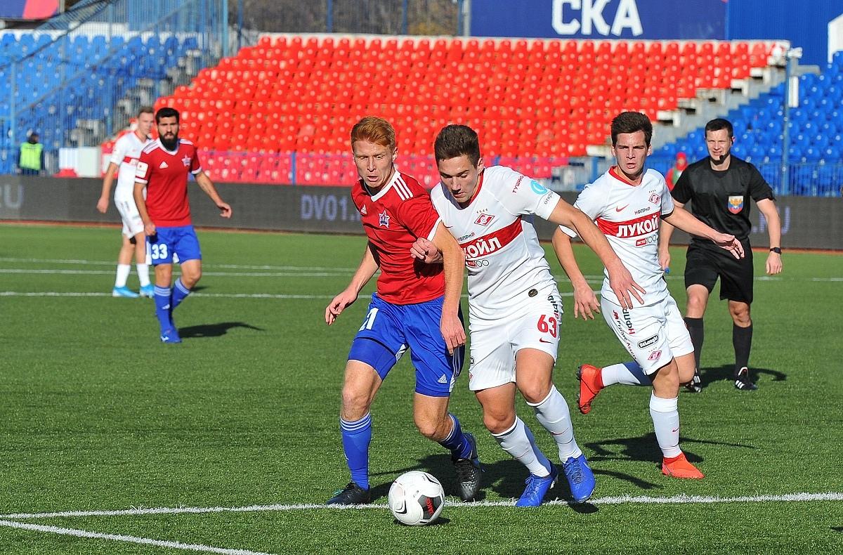 «Спартак-2» в гостях проиграл СКА (Видео)