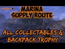 The Division 2 MARINA SUPPLY ROUTE Classified Assignment Walkthrough BACKPACK TROPHY LOCATED