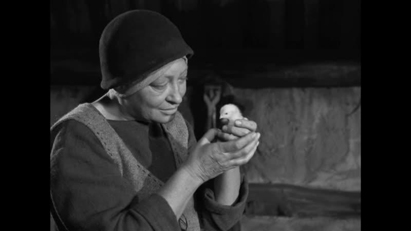 Цыплята Девичий источник 1960 реж Ингмар Бергман Jungfrukällan 1960 Ingmar Bergman фрагмент