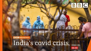 India surpasses 200,000 Covid deaths in world's worst second wave - BBC News live 🔴 BBC