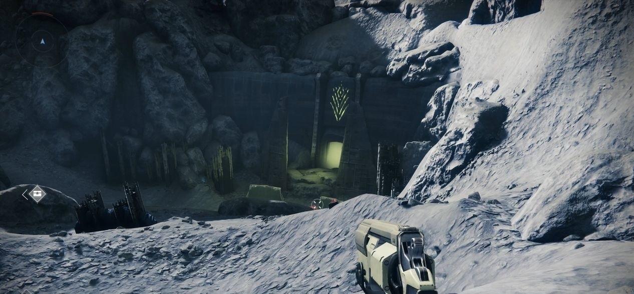Destiny 2 вход в подземную локацию