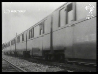 World's smallest railway resumes public service (1946)