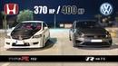VW Golf R mk 7.5 🆚 Honda Civic Type R FD2 - 2019 Battle 🏁