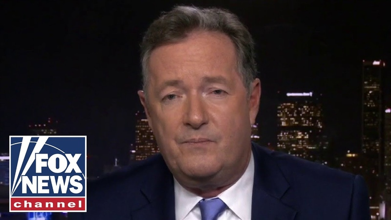 Piers Morgan rips medias love for Avenatti Its a stain on US media