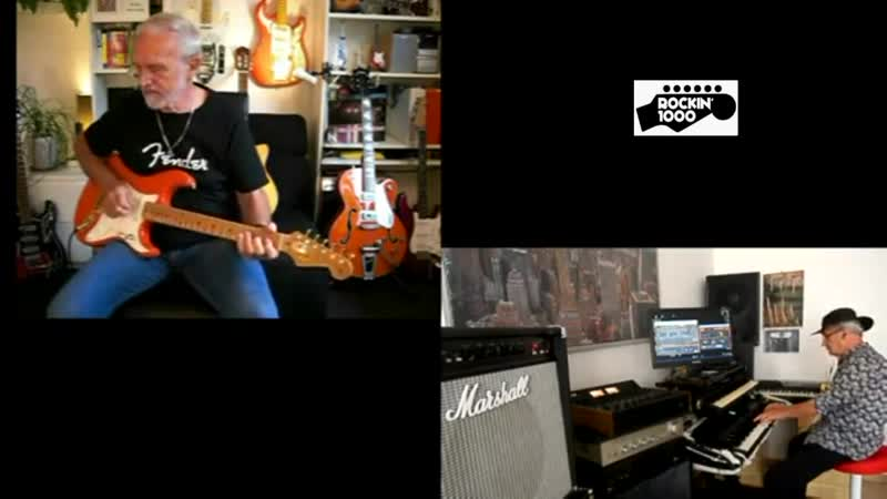 Lettere per te Letters from you-cover backing track-guitarrist Ernst,Ivan keyboards
