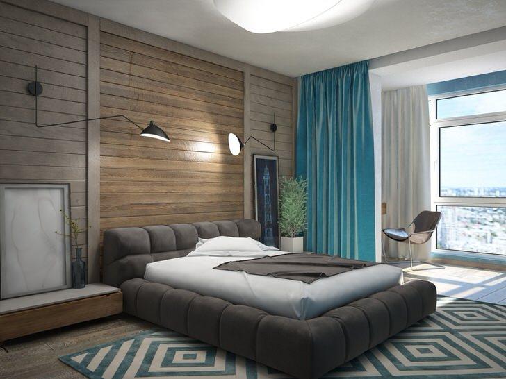 Обшивка квартиры имитацией бруса