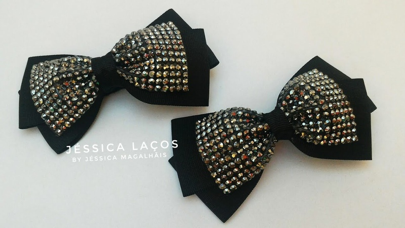 DIY Laço Menina Moça -lazo muchacha muchacha- Little Girl Tie