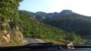 Горная дорога через Скадарское озеро Черногория