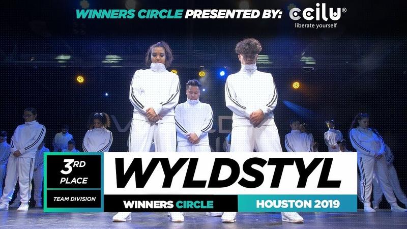 Wyldstyl 3rd Place Team Winner Circle World of Dance Houston 2019 WODHTOWN