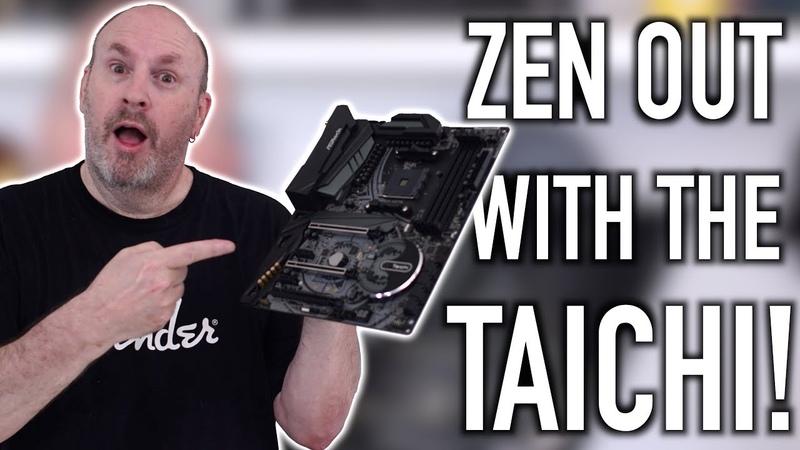 ASRock X470 Taichi Motherboard - AMD Wins Again!