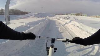 Бего Вело круг Зимний Триатлон Тобольск