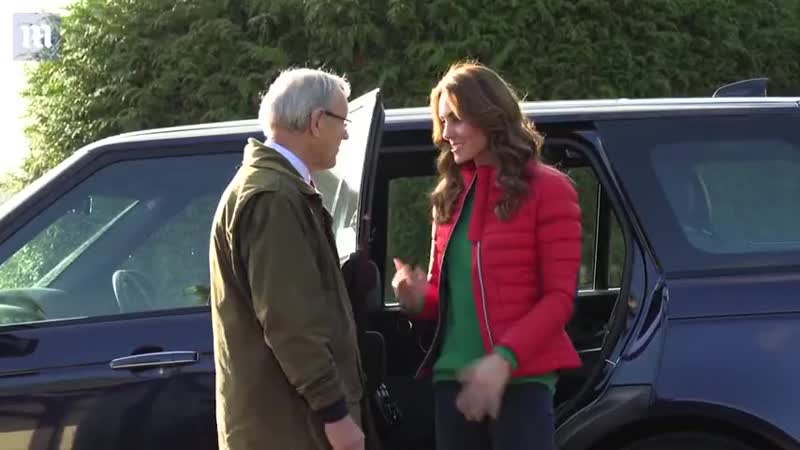 The Duchess of Cambridge visited Peterley Manor Farm in Buckinghamshire