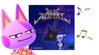 Villagers (mostly Bob) Singing K. K. Metal - Animal Crossing New Horizons