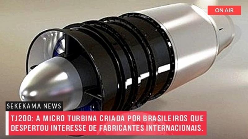 TJ200 A micro turbina criada por brasileiros que despertou interesse de fabricantes internacionais