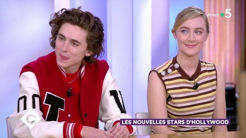 Timothée Chalamet Saoirse Ronan Florence Pugh Les nouvelles stars d'Hollywood 11 12 2019