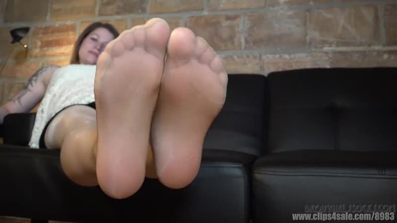 Boots nylon fetish